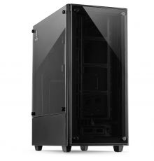 InterTech C-303 Mirror ATX Case with Tempered Glass|armenius.com.cy