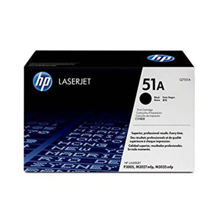 Toner HP LaserJet Q7551A Black Print Cartridge armenius.com.cy
