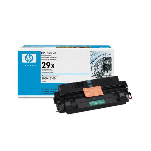 Toner HP LaserJet Black Print Cartridge C4129X armenius.com.cy