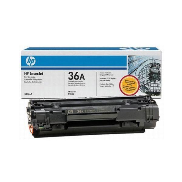 Toners HP 36A Black LaserJet Toner Cartridge CB436A|armenius.com.cy