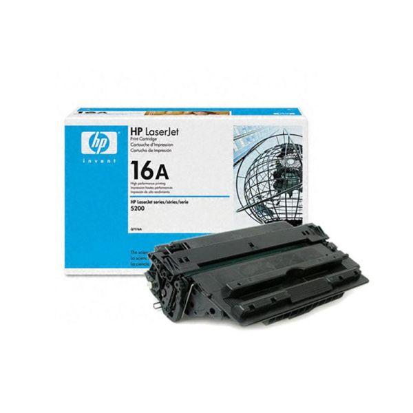 Toner HP 16A Black LaserJet Toner Cartridge