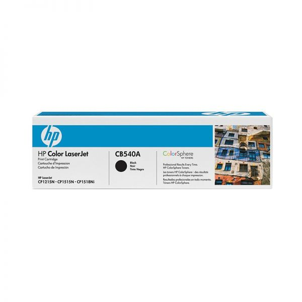 Toner HP 125A Black LaserJet Toner Cartridge