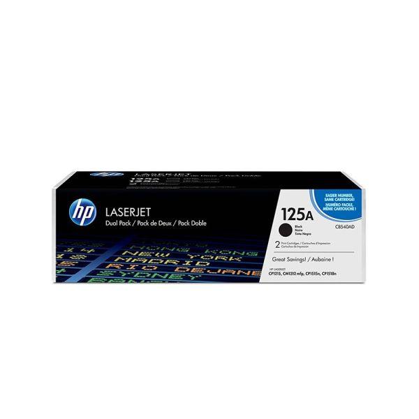 HP 125A Black Dual Pack LaserJet Toner Cartridges