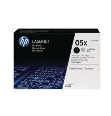 Toners HP 05X Black Dual Pack LaserJet Toner Cartridges CE505XD|armenius.com.cy