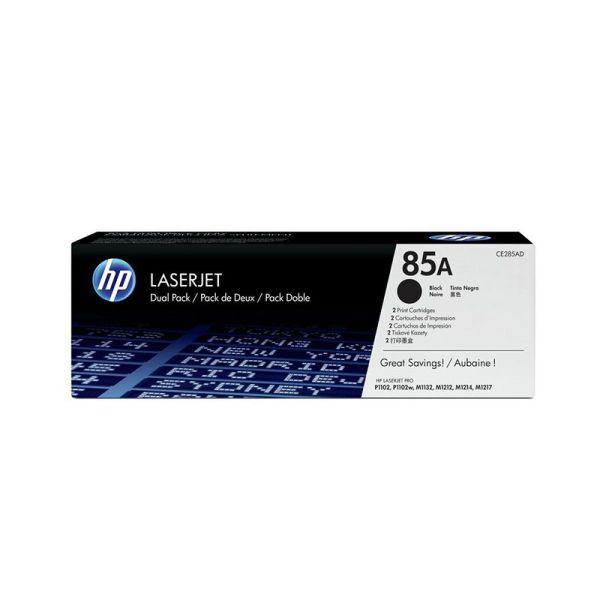 Toners HP 85A Black Dual Pack LaserJet Toner Cartridges CE285AD|armenius.com.cy