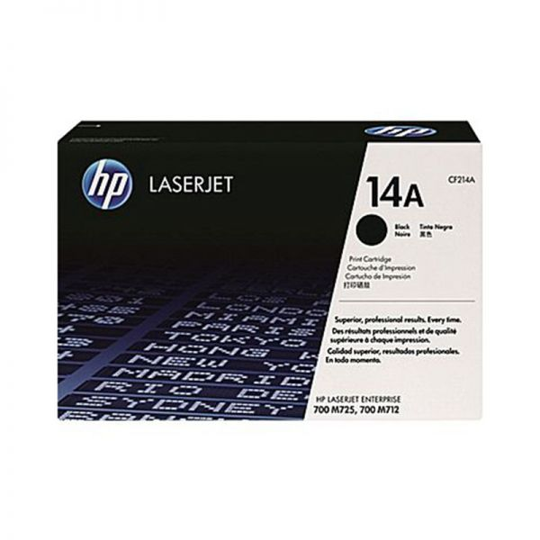 Toner HP 14A Black LaserJet Toner Cartridge