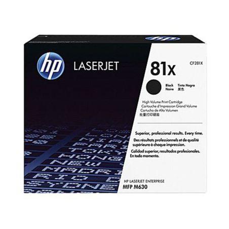 Toner HP 81X High Yield Black Original LaserJet Toner Cartridge