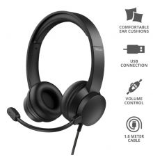 Trust Rydo On-Ear USB Headset| Armenius Store