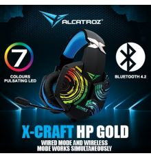 Alcatroz X-Craft HPGold 5000 BT Gaming Headset|armenius.com.cy
