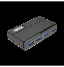 Unitek Y-HB03001 USB3.0 4-Port Hub Charging & PSU| Armenius Store
