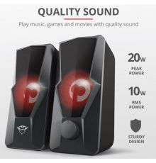 Tust GXT 610 Argus Illuminated 2.0 Speaker Set|armenius.com.cy