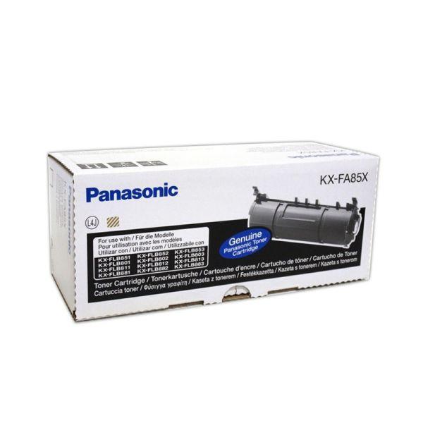 Panasonic black Toner Cartridge KX-FA85X| Armenius Store