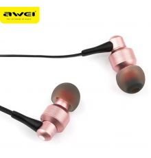 Awei ES-50TY Wired Earphones 1.2m RoseGold|armenius.com.cy