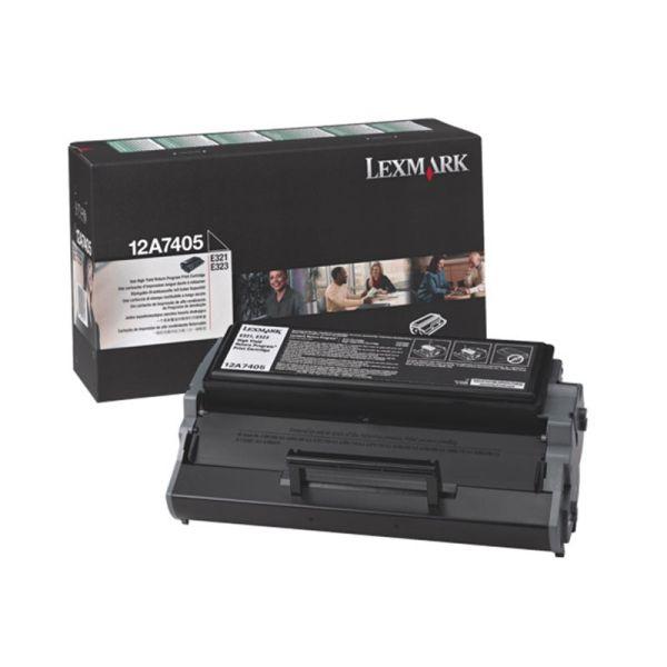 Toner Lexmark Black Toner Cartridge 12A7405|armenius.com.cy