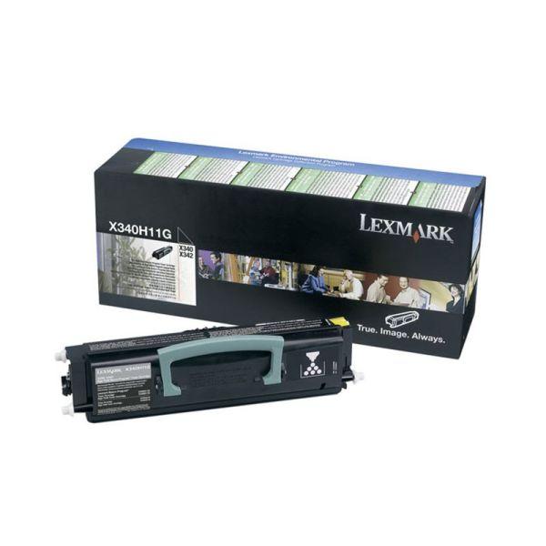 Toners Lexmark Black Toner Cartridge X340H11G|armenius.com.cy