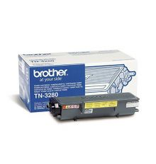Toner Brother black Toner Cartridge TN -3280|armenius.com.cy