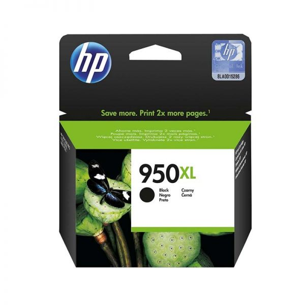 HP 950XL Black Original Ink Cartridge (CN045AE)|armenius.com.cy