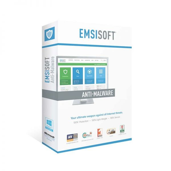 Security Emsisoft Anti-Malware 3 PC For 1 Year|armenius.com.cy