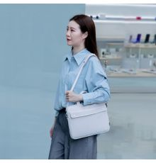 "Baseus Basics Series 16"" Shoulder Laptop Bag White| Armenius Store"