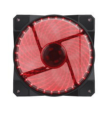 Gamemax GMX GF12R Red Led Fan|armenius.com.cy
