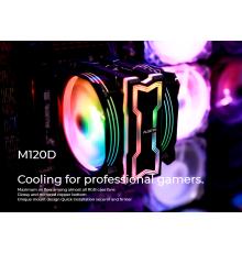 Alseye M120D LED RGB CPU Cooler with Heatsink| Armenius Store