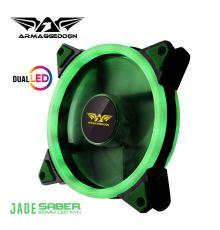 Armaggeddon Saber Jade Dual Gaming PC Fan| Armenius Store