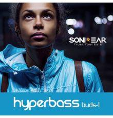 Sonicgear HYPERBASS BUDS 1 Earphones Gun Metal Black|armenius.com.cy