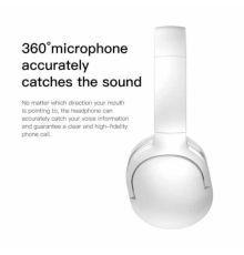 Baseus D02 Bluetooth Headphone White|armenius.com.cy