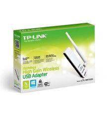 Adapter150Mbps High Gain Wireless N USB TL-WN722N |