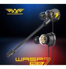 Armaggeddon Wasp 7 Pro 3D Gaming Earphones With Triple Neodymium
