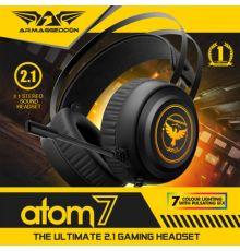 Armaggeddon Atom 7 2.1 Stereo Gaming Headset|armenius.com.cy