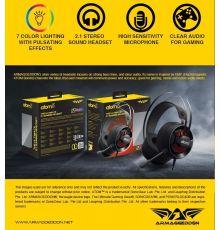 Armaggeddon Atom 5 2.1 Stereo Gaming Headset|armenius.com.cy