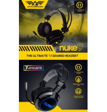 Armaggeddon Nuke 9 Pro-Gaming Headset|armenius.com.cy