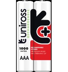 Uniross AAA 1000 Hybrio Rechargable Batteries 4Pcs| Armenius Store