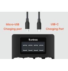 Uniross UCU005 Ultra Fast Charger No Batteries|armenius.com.cy