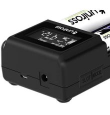 Uniross UCX004 Smart Charger Compact with LCD Screen|armenius.com.cy