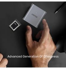 Unitek R1005A CFexpress2.0 10Gbps Compact Flash Card Reader| Armenius Store