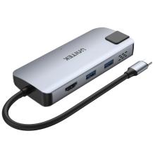 Unitek D1028A Type-C Hub 2x USB3.2 HDMI/Gb/PD100W| Armenius Store