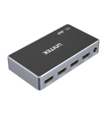 Unitek V1109A 4K HDMI Splitter 1 In-4 Out Black/Space