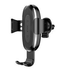 Baseus WXYL-01 Wireless Air Vent Gravity Car Charger Black  Armenius Store