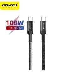 Cable Awei CL 117t 100W Type C armenius.com.cy