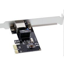 Gigabit Network PCI express card PCIe x1 Inline 51125L| Armenius Store