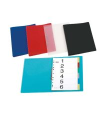 PP RING BINDERS A4 BLACK RED SOLUTION|armenius.com.cy