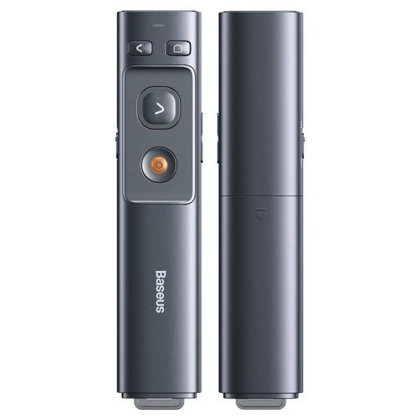 Baseus OrangeDot Wireless Laser Presenter Grey