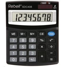 DESKTOP CALCULATOR REBELL 8 DIGIT|armenius.com.cy