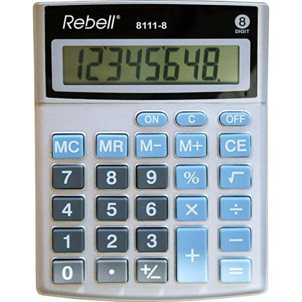 Calculators DESKTOP CALCULATOR REBELL 8111 8