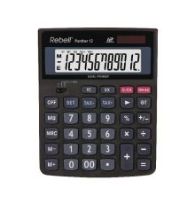 DESKTOP CALCULATOR REBELL PANTHER 12 DIGIT|armenius.com.cy