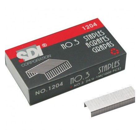 STANDARD STAPLES SDI 24/6 1000 PCS BOX| Armenius Store