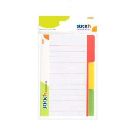 STICK N DIVIDER NOTE 148.4X97.6MM 3 X 60 SHEETS PAD armenius.com.cy