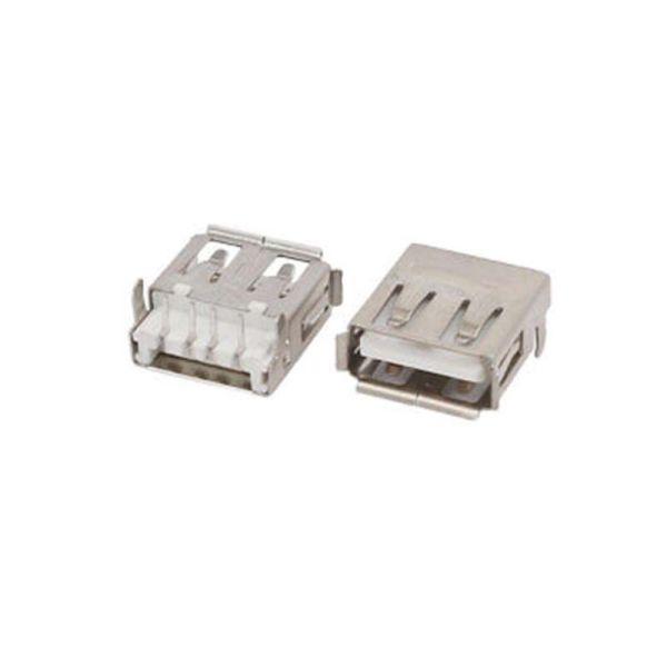 USB 2.0 Type A 4-Pin DIP 90 degree socket connector| Armenius Store